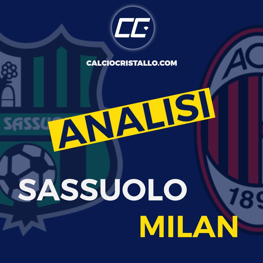 SASSUOLO-MILAN 1-2: LA NOSTRA ANALISI